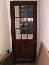 internal half glazed door