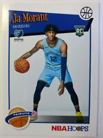 2019 19-20 Panini NBA Hoops Tribute JA Morant Rookie RC #297