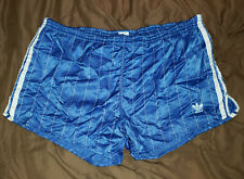 Adidas Nylon Santiago Shorts D8 XL Shiny Satin Glanz Sprinter Vintage Running