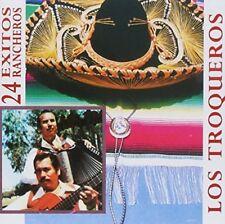 Los Troqueros 24 Exitos Rancheros CD New Sealed