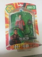the DOCTOR WHO in pentallan spacesuit red DR action figure series 3