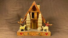 Antique Germany / Switzerland Chalet Reuge Music Box