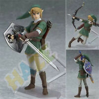 Anime The Legend of Zelda Link Figma 320 Acción Figura Estatua 14cm PVC Juguete