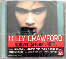 Billy Crawford CD Ride - Limited Edition - Europe (M/M - Scellé / Sealed)