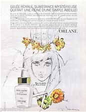 PUBLICITE ADVERTISING 115  1967  ORLANE   cosmétiques GELEE ROYALE