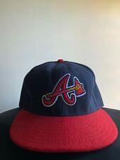 Authentic New Era 59FIFTY Atlanta Braves Baseball Cap Size 7 1/2 59.6cm