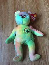 Ty Beanie Babies Peace 1996Tags Retired L@@K!
