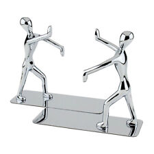 2pcs Bookends Convenient Lovely Book Supports Bookends Shelves for CDs Documents