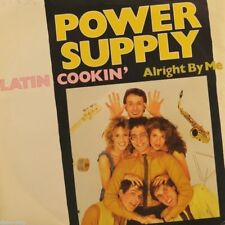 "7"" POWER SUPPLY Latin Cookin' b/w Alright By Me BLOW UP German-Press orig. 1983"