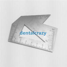 2019  Facial Skin Stainless Steel Scale Plate Engraving Nose Caliper Care Tools