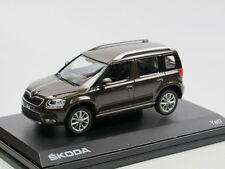 Abrex 143AB031YM, 2013 Skoda Yeti Facelift matt braun 1/43 neu OVP