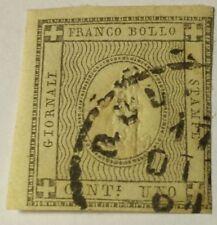 Francobolli italiani dell'antico stato di Sardegna