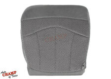 1999 Ford F-150 XLT Extended-Cab F150 -Driver Side Bottom Cloth Seat Cover Gray