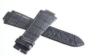 Girard Perregaux 15mm x 19mm Grey Leather Watch Band