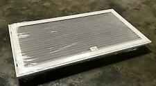"""LIMA S90HFF-30 X 16 WHT/001502 16""""X30"""" STEEL BAR HORIZONTAL FILTER GRILLE"""