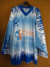 Maillot Hockey sur Glace Le Havre Thiers Optique porté #10 Jersey Vintage - L