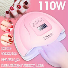 Sun 5Xplus 110W Uv Led Lamp For Nails Dryer 36 Led Manicure Nail Drying Machine