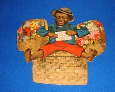 Vintage Black Americana Trade Card Date Thea Nectar Larger Size