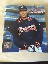 Vintage Atlanta Braves Clubhouses Magazine 2003 Good Shape