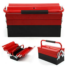 3 Tier 5 Tray Heavy Duty Professional METAL Storage Cantilever TOOL BOX
