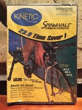 Spinervals 23.0 Time Saver I 1 Dvd Cycling Workout Kinetic Kurt Competition New