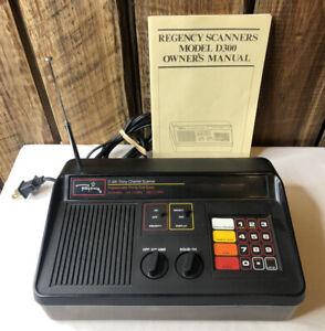 Vintage Regency D300 30 Channel Automatic Programmable Scanner
