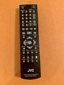 JVC RM SXVBP1J Blu Ray Disc Player Remote Control Black Replacement Original