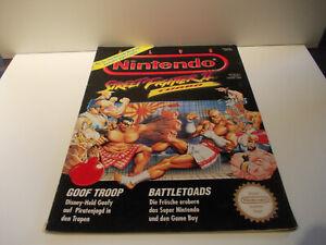 ZELDA Nintendo Club Zeitschrift von 1993 mit Original ZELDA Poster  TOP