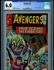 Avengers #27 CGC 6.0  1966  Silver Age Marvel Comics Amricons