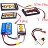 2-6S LiPo Battery Parallel Charging Adapter Board XT60 Plug/T Plug Balance Plate