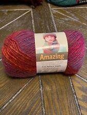 Lion Brand Yarn : Amazing : 147 yds : AURORA