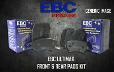 EBC ULTIMAX FRONT + REAR BRAKE PADS KIT SET BRAKING PADS OE QUALITY PADKIT643