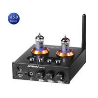 AIYIMABluetooth 5.0 6K4 Vacuum Tube Preamplifier HiFi Stereo Headphone Amplifier