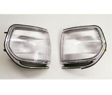 Pair Front Corner Turn Signal lamp Light for Toyota Land Cruiser 80 91-97