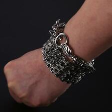 EDC Martial Arts Titanium Steel Tactical Whip Bracelet Kung Fu Necklace