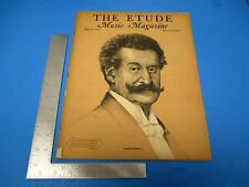 Etude Music Magazine March 1937 Vol LV #3 Johann Strauss Jr. L259
