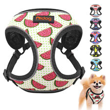Cute Dog Harness Reflective Soft Mesh Cat Pet Vest Small Medium Jack Russell Pug