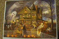 Haunted Haven 300 Piece Puzzle Complete