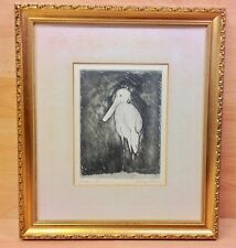 Limited Edition (4 of 30) Signed Etching 1979.