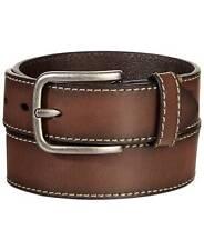 $125 Levi'S Mens Brown Leather Strap Heavy Duty Bridle Dress Buckle Belt M 34-36
