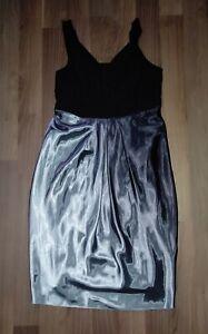 M.I.M traumhaftes Kleid hochwertiges Marken Abendkleid Satin Gr. 48