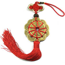 Emperor Feng Shui Hanging Pendant Chinese Orientl Money I CHING Coin Lucky Charm