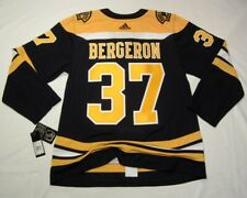 PATRICE BERGERON size 52 Large  Boston Bruins Aeroready Adidas NHL Hockey Jersey