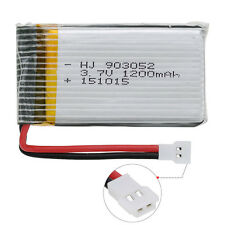 4pc Lipo Battery 3.7V 1200mAh 25C + Charger For SYMA X5S X5SC M18 RC Quadcopter