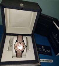 Limited Special Edition Corum Bubble Ladies Diamond MOP Watch 39.151.47 W/ Box