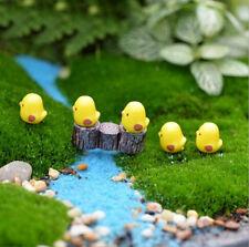 5Pcs Resin Craft Garden Miniature Figurine Plant Pots Ornament Fairy Doll Tx151