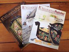 Decorative Painter Magazine Three Issues 2011