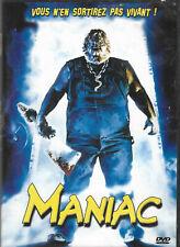DVD Maniac: rare, horreur, boucherie, massacre, grand frisson, mort, saignant