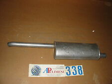 532127 MARMITTA TERMINALE(MUFFLER /AUSPUFF)OPEL ASTRA 3volumi CABRIO-GT 1.4-1.6