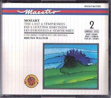 Bruno Walter: Mozart 35 36 38 39 40 41 Jupiter CBS 2cd Haffner Linzer sinfonie